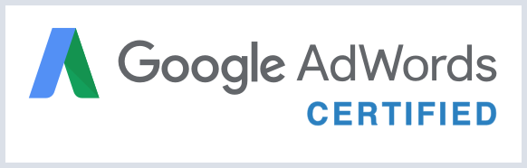 Google Adwords and Analytics certified